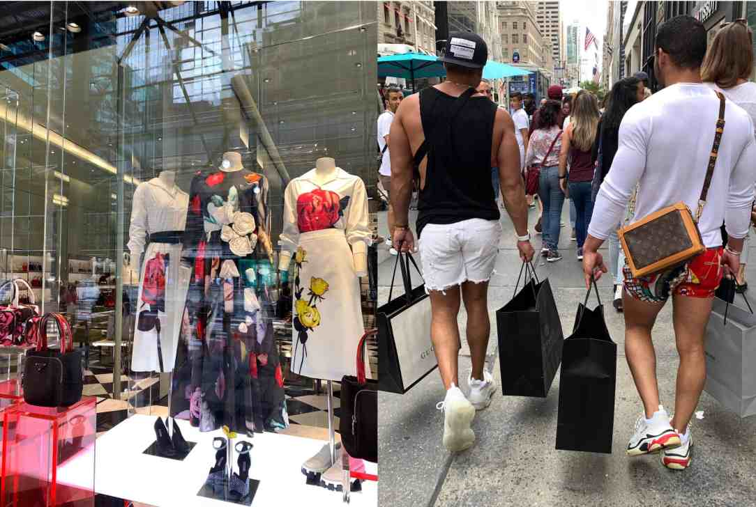 collage-shoppen in NYC
