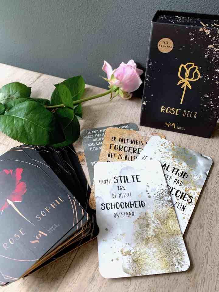 Rose kaartendeck