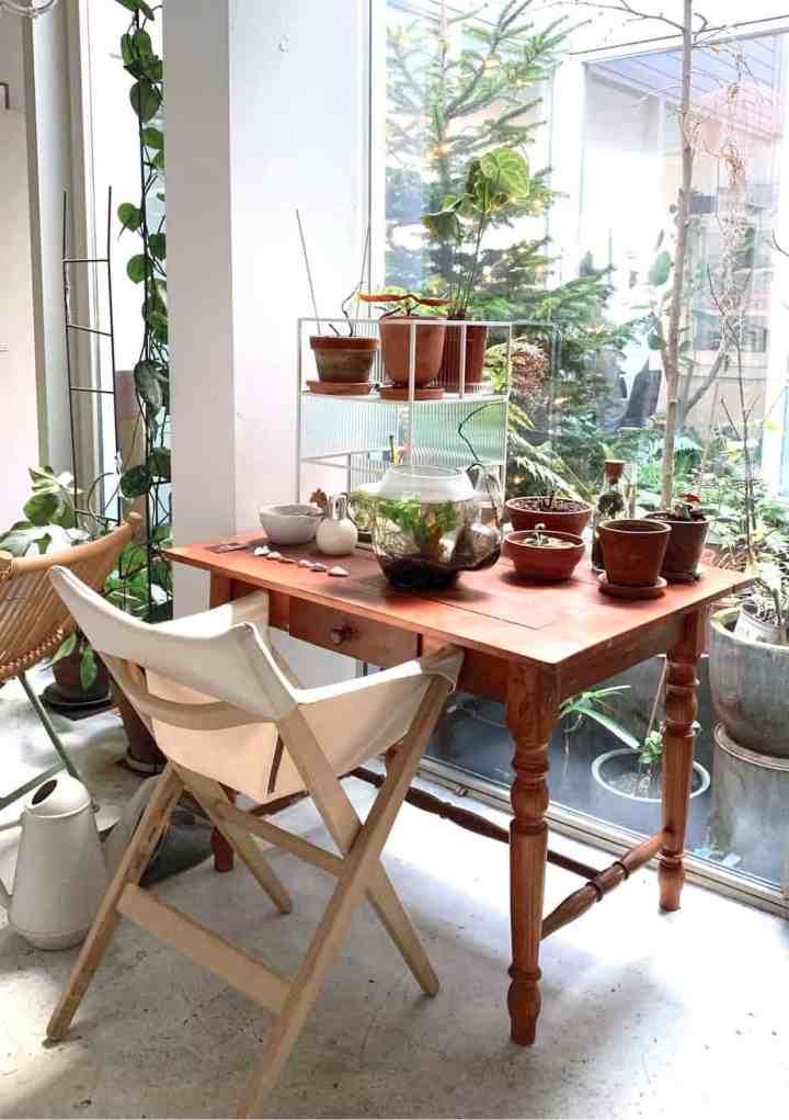 planten tafel
