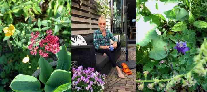 De laatste zomer dat ik van mijn tuin geniet