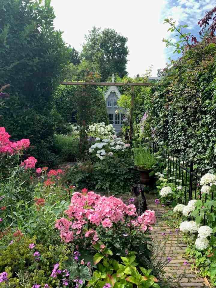 vakantie thuis in de tuin