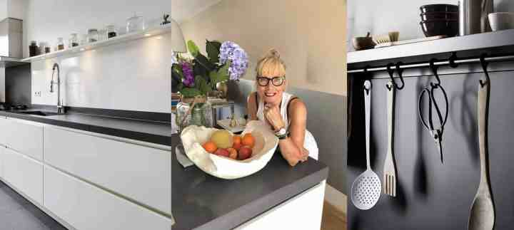 witte keuken/zwarte keuken