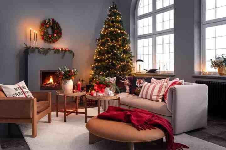 traditioneel Kersthuis