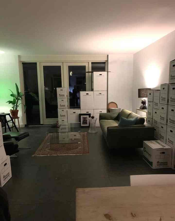 mijn nieuwe huis