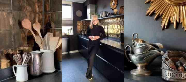 Mega keuken metamorfose:  van hoogglans wit naar mat zwart