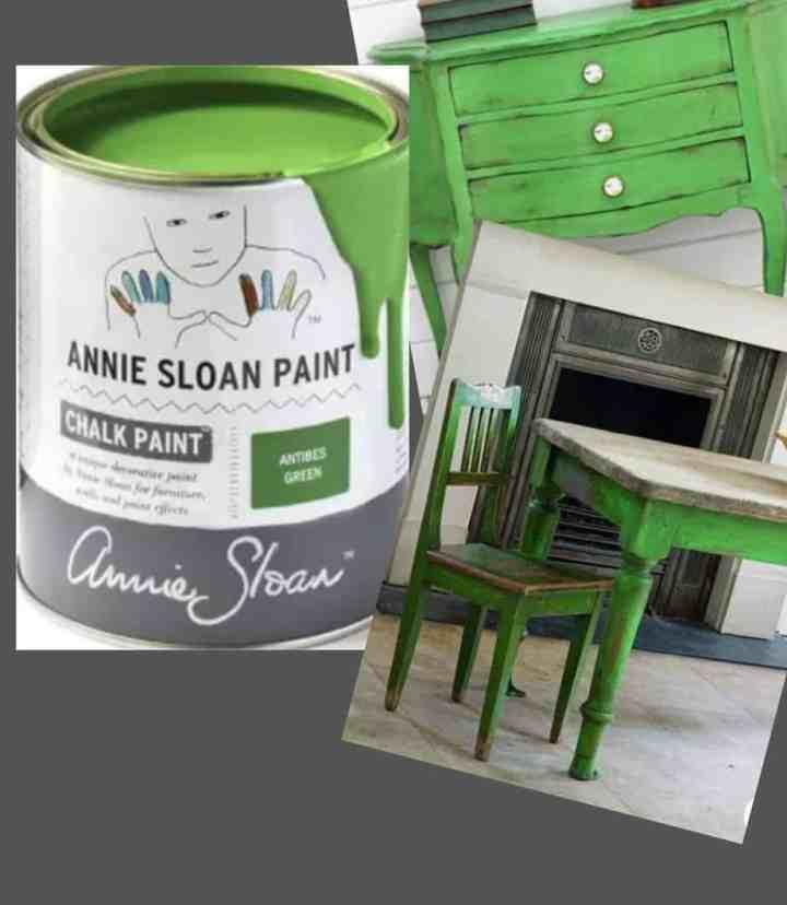 nieuwe kleur voor kast Antibes Green