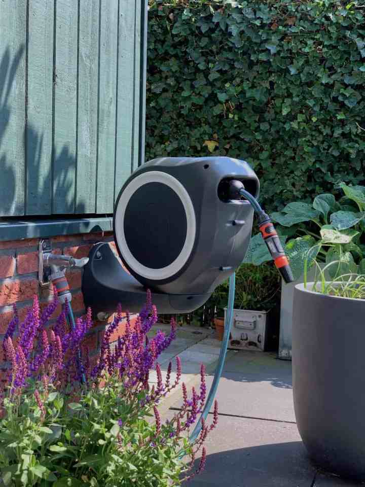 Gardena wandbox voor tuinslang