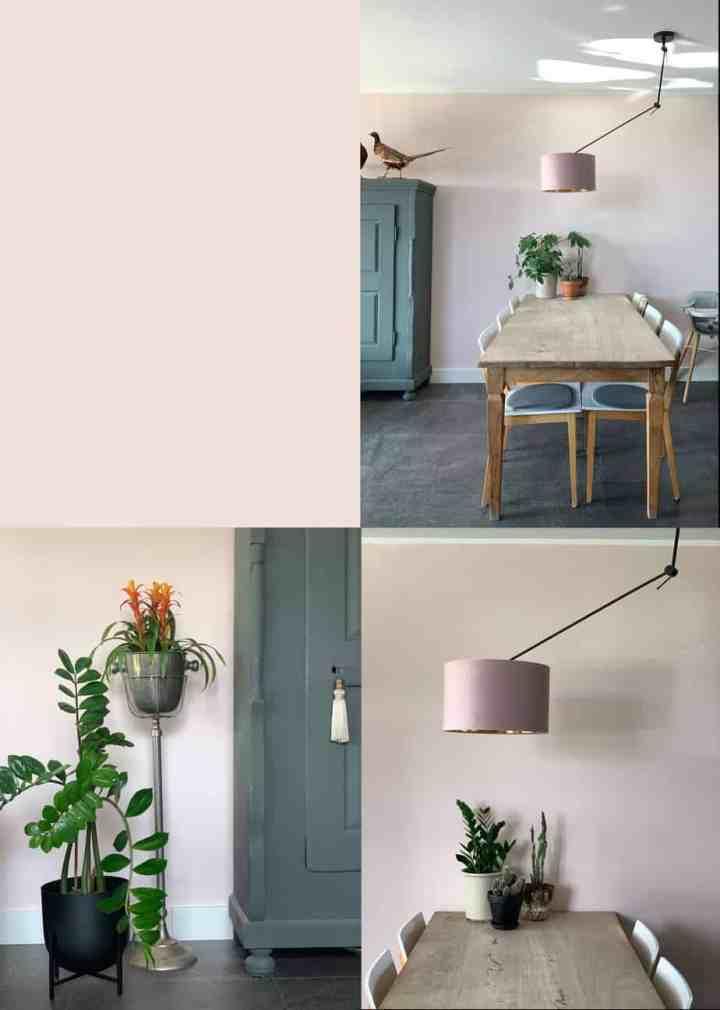 kleur in huis/ stylish pink