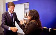 met premier Mark Rutte