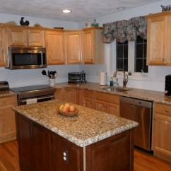 New Kitchen Cabinets Porcelain Tile Floor My Vp Of Domestic Affairs