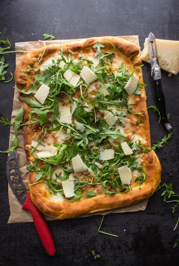 Italian Pizza Bianca Best Easy White Pizza  You wont