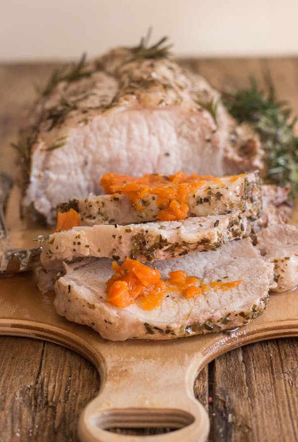 Italian Roast Pork Loin, An easy delicious Italian spiced one pot Pork recipe, tender and juicy. Makes the perfect family dinner.