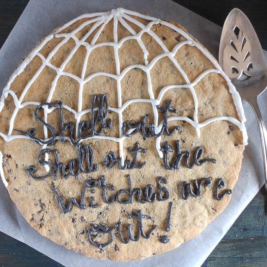 big chocolate chip cookie