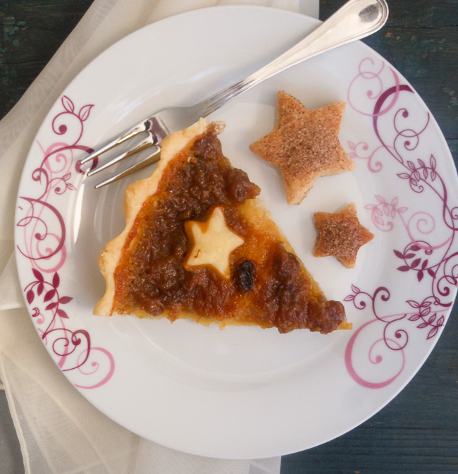 butter tart pie / anitalianinmykitchen.com