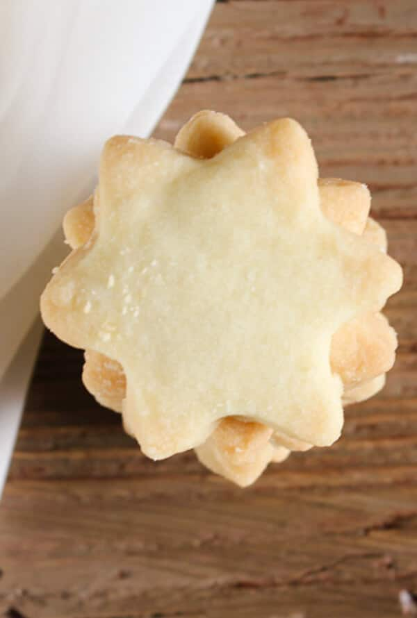 The Best Simple Two Way Shortbread Cookies