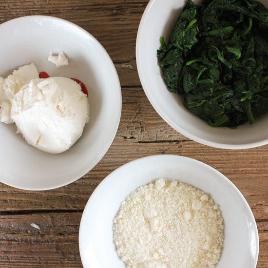 ricotta spinach tarts