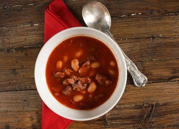 prosciutto and bean soup/anitalianinmykitchen.com