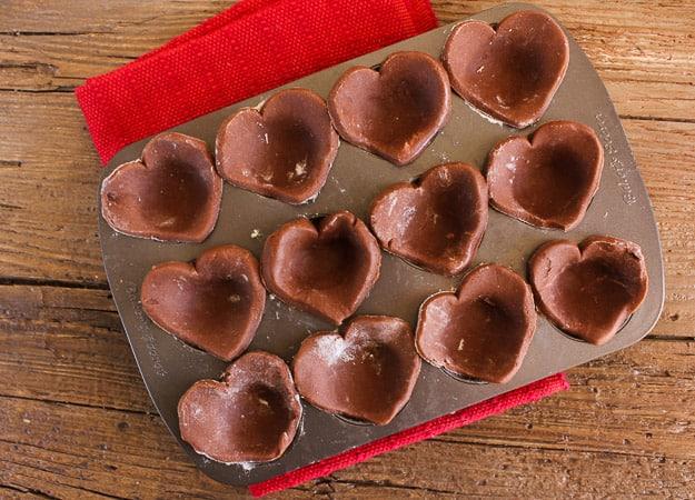 Italian Cream heart tarts/anitalianinmykitchen.com