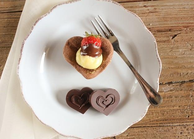 Italian V Day tarts /anitalianinmykitchen.com