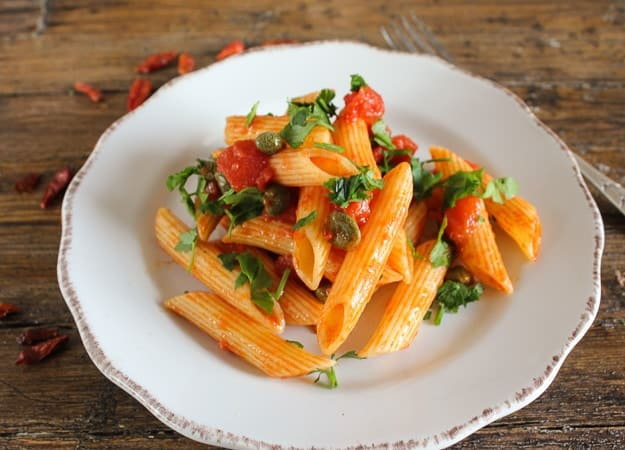 Penne All Arrabbiata, a delicious spicy Pasta dish, a yummy tomato sauce makes this dish extra special. A family favourite.