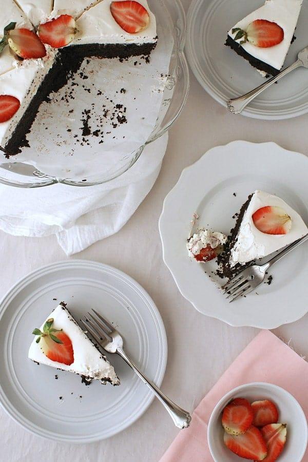 Rich and Moist Dark chocolate cake