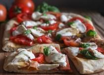 no yeast pizza dough slices