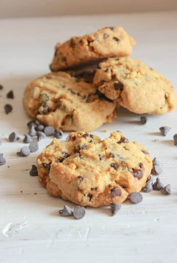 Peanut Butter Chocolate Chip Thick Cookies