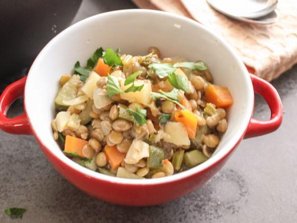 homemade Lentil Soup|An Italian in my Kitchen|www.anitalianinmykitchen.com