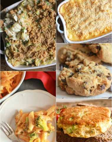 Top 5 Blog Posts of 2015, from one of the best cookies ever to a few amazing casseroles to healthy. Something for everyone! Enjoy.|anitalianinmykitchen.com