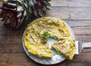 The Best Simple Tasty Artichoke Frittata, a fast, easy and healthy Italian frittata recipe. A low carb brunch idea.