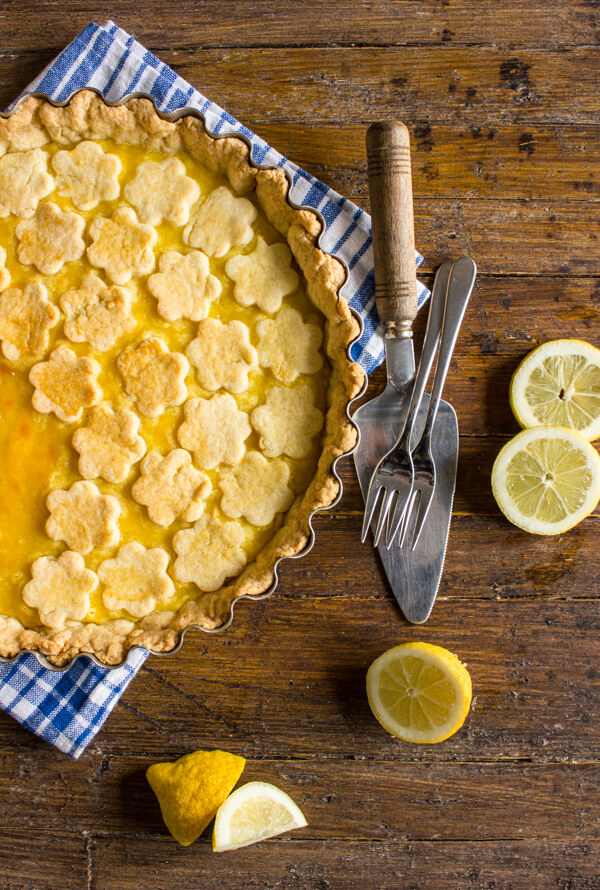 Italian Lemon Crostata
