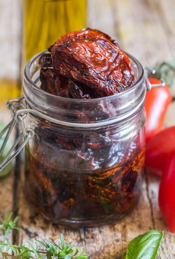 Homemade Oven Dried Tomatoes