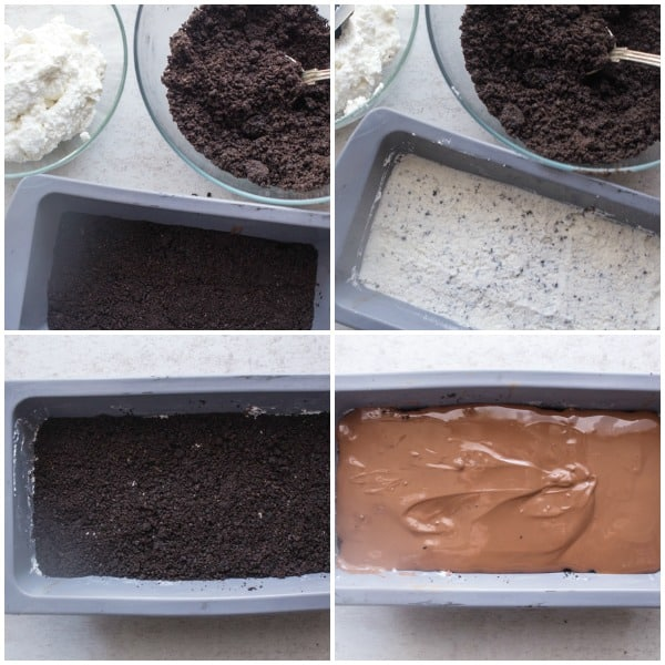Cookies and Cream Chocolate Dream Bar is a delicious decadent homemade chocolate bar made with chocolate and Oreos. Yummy Dessert.