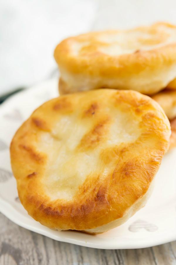 bannock bread on a plate