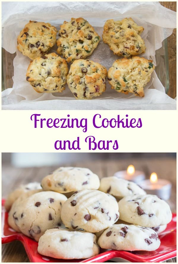 freezing cookies and bars easy tips on how to freeze cookies dough and