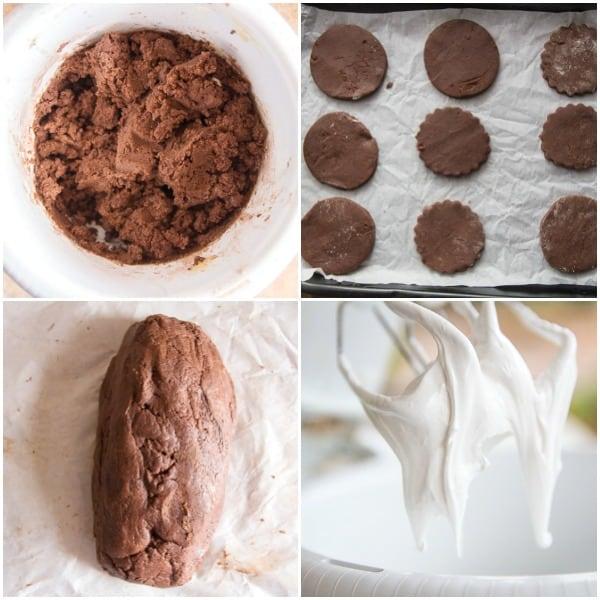 how to make photos of ghost meringue sugar cookies