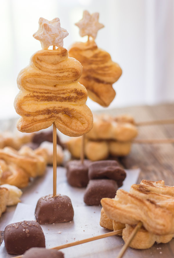 Puff Pastry Christmas Trees