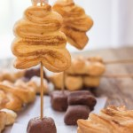 Puff Pastry Christmas Trees, a simple, easy and delicious Christmas Holiday idea. Cinnamon sugar crunchy cookies.