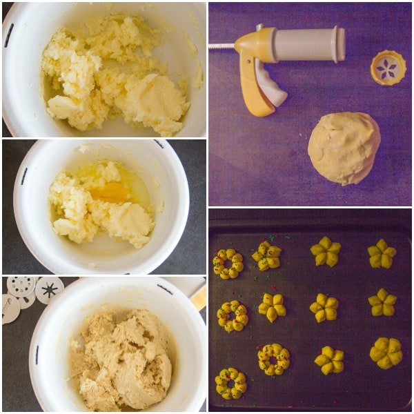how to make Italian spritz cookies photos
