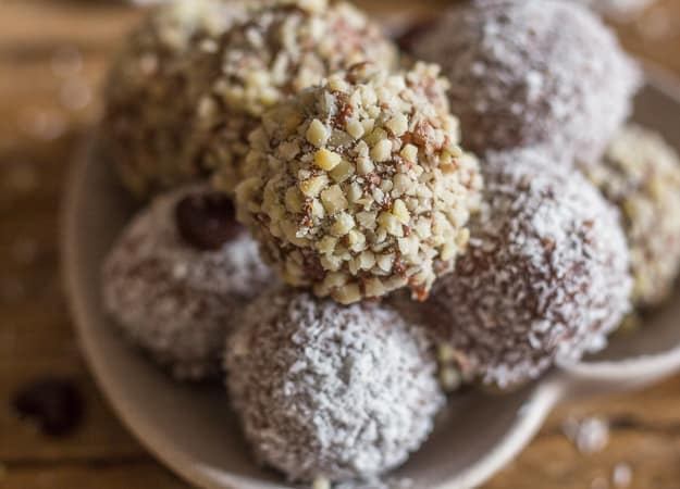 upclose cookie dough truffles