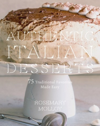 authentic Italian desserts cookbook