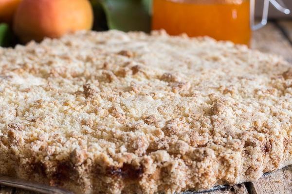 crumb pie up close