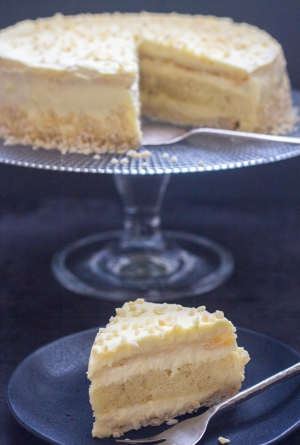 Italian Orange Diplomat Cake / Torta Diplomatica