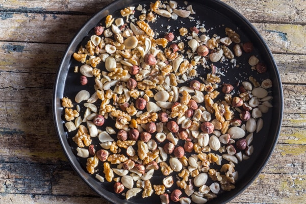 roasted chopped nuts
