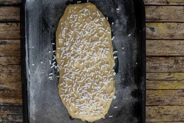 ready for baking ciambella romagnola