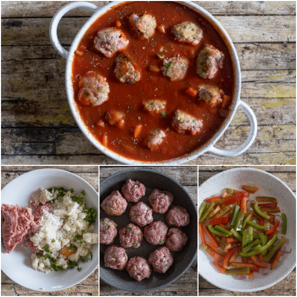 Italian meatballs how to make