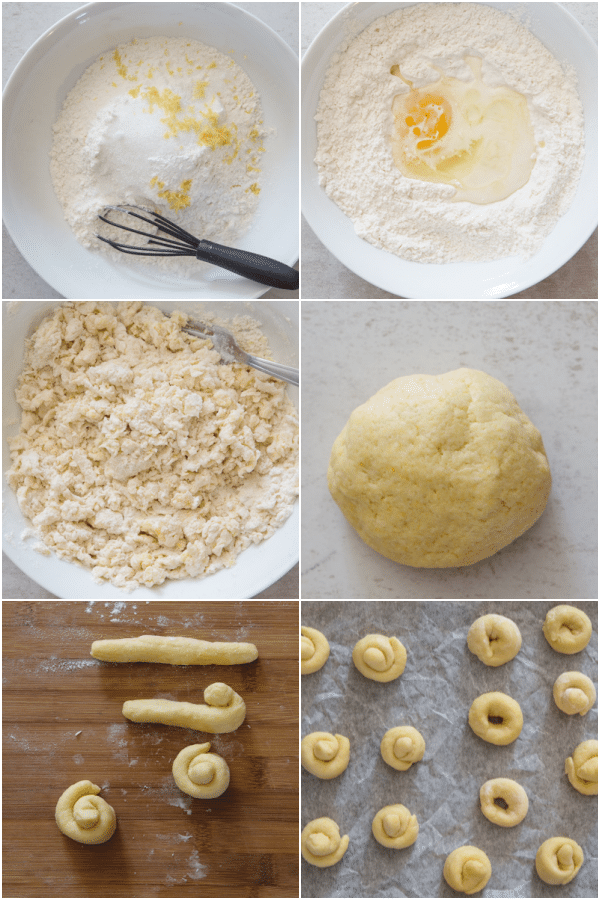 easter cookies how to make making the dough rolling out and before baking