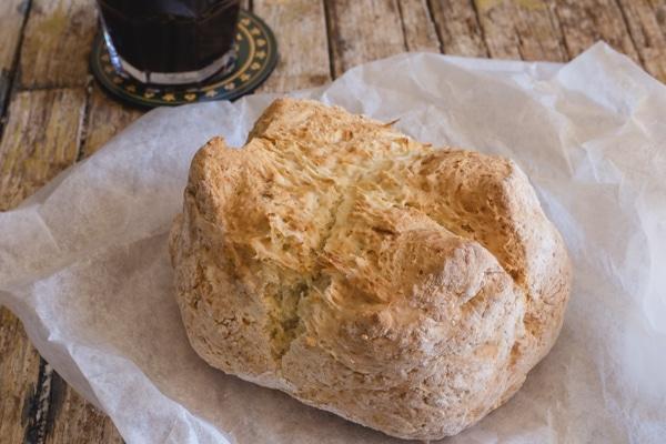up close Irish Soda Bread
