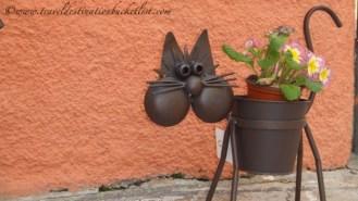 Cat art in Mallorca