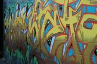 Wild style graffiti on the Toronto graffiti tour
